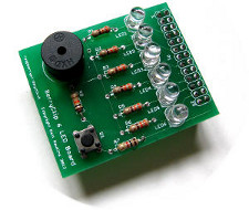 BerryClip-6-LED-Board