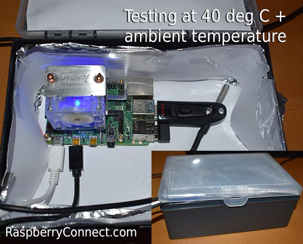 Ice Tower Cooling Fan Box Test