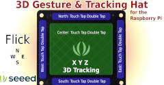 Seeed Studio 3D Gesture & Tracking Sheild